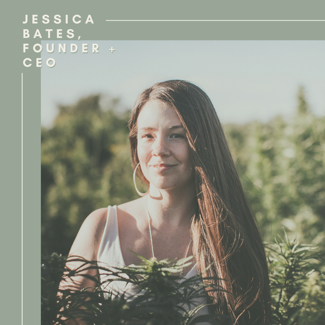 Jessica Bates, Founder + CEO of Moon Mother Hemp Company