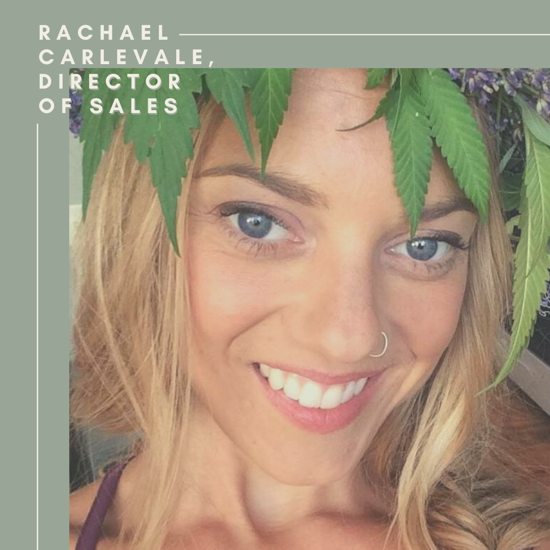 Rachael Carlevale, Director of Sales, Moon Mother Hemp Co