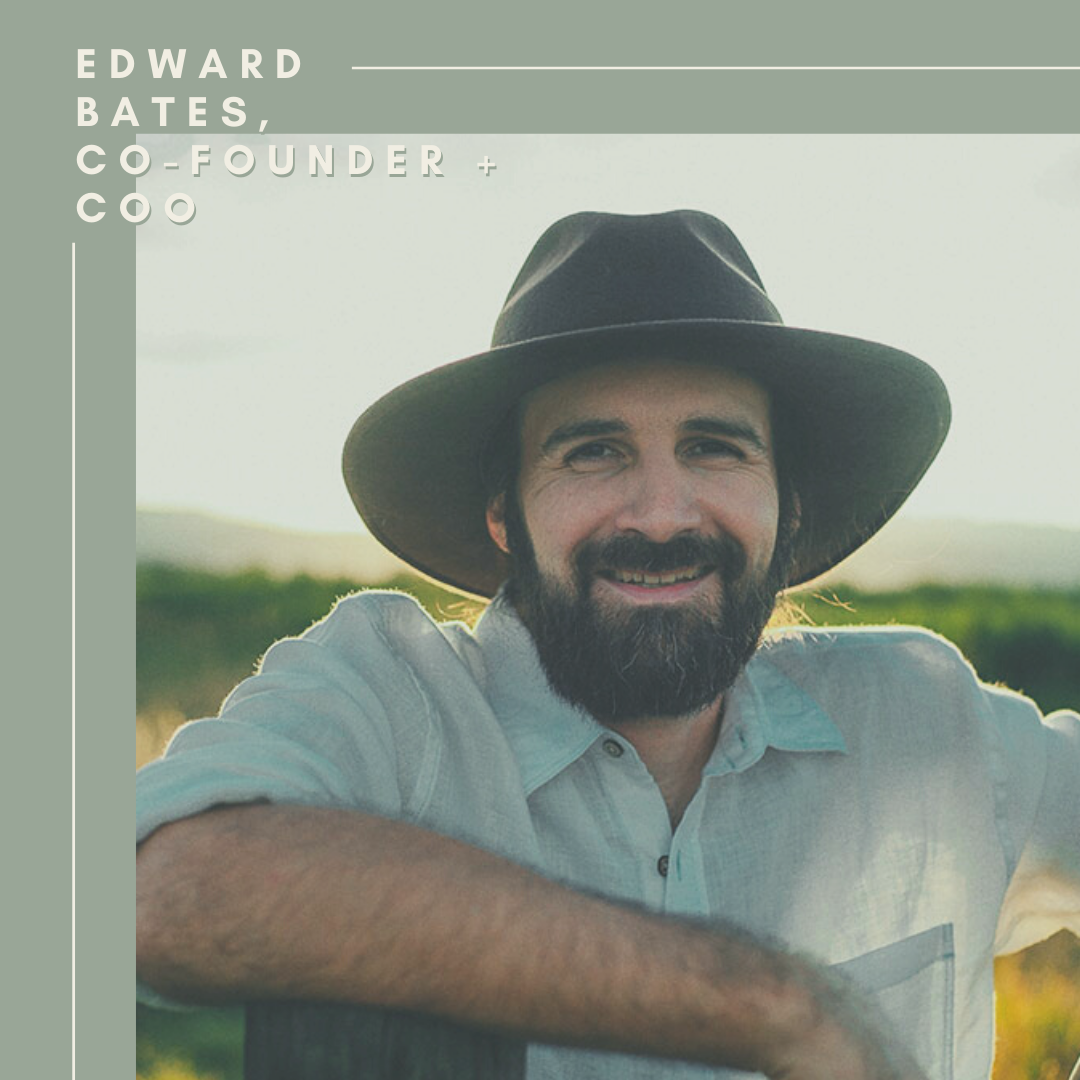 Edward Bates, COO + Co-Founder of Moon Mother Hemp Company